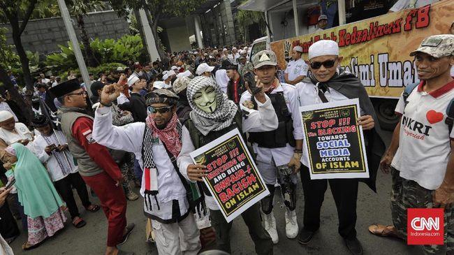 Gagal Temui Facebook, Massa Aksi 121 Bubarkan Diri