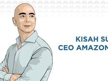 Kisah Sukses Jeff Bezos, Sang Pendiri Amazon