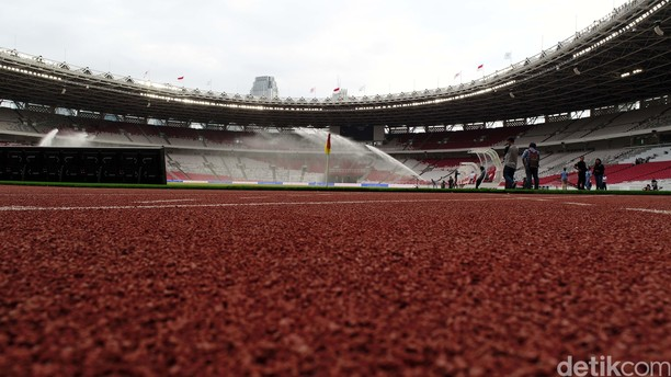 Foto: Mengagumi Kemegahan Stadion GBK dari Udara