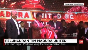 VIDEO: Madura United Rilis Skuat 2018