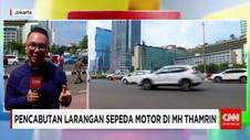 Pencabutan Larangan Sepeda Motor di MH Thamrin