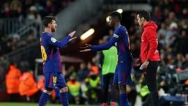 Messi Dukung Dembele Gantikan Peran Neymar