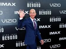 Luncurkan Amazon Go, Kekayaan Jeff Bezos Bertambah Rp 37,2 T