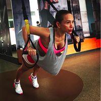 Jarang tampil di layar kaca rupanya Kiki lebih banyak menghabiskan waktu untuk berolahraga. Foto: Instagram/@qq_fatmala