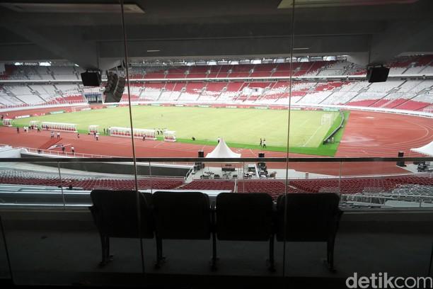 Stadion Utama GBK juga Dilengkapi Empat Sky Box