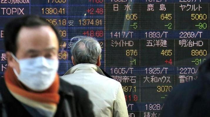 Bursa Jepang Akhir Pekan Ditutup Terkoreksi 0,58%