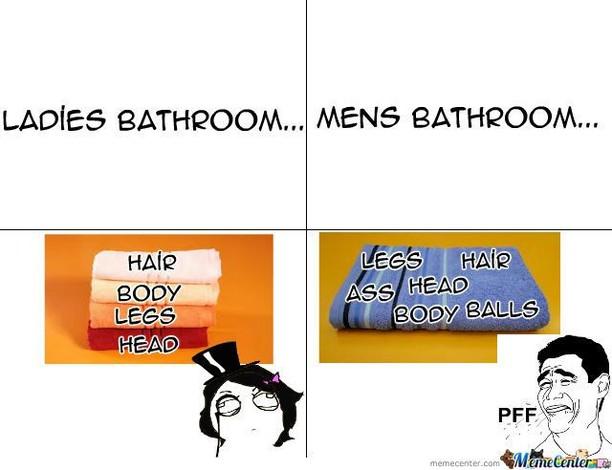 Meme Kocak Beda Kelakuan Pria dan Wanita