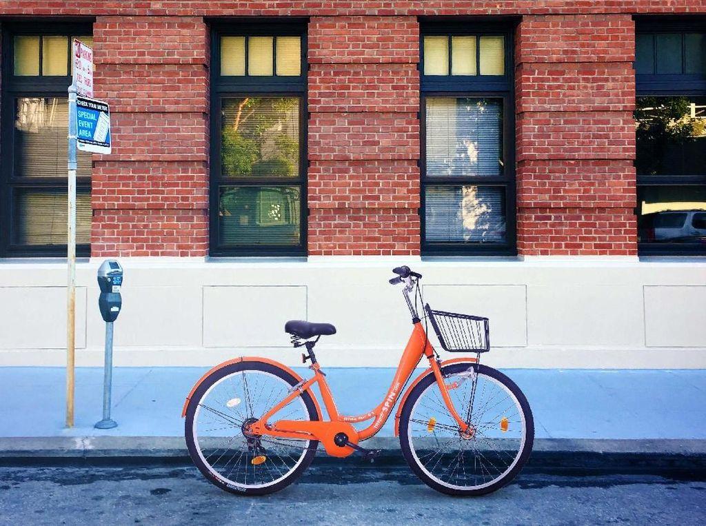 Spin didirikan pada 2016. Perusahaan tersebut menyewakan sepeda buatannya kepada masyarakat perkotaan. Istimewa/Techcrunch.