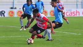Zah Rahan Gagalkan Kemenangan Persela atas Madura United