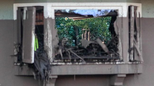 Setidaknya 13 orang tewas tertimbun tanah longsor di California, tepatnya di Santa Barbara, daerah yang juga dilanda bencana kebakaran bulan lalu. (REUTERS/ Kyle Grillot)