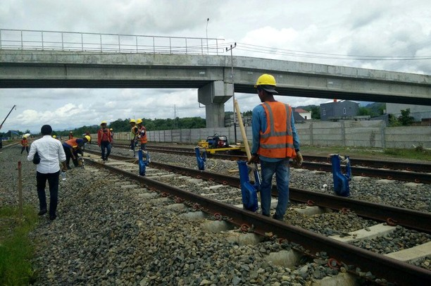 Jalur Kereta Trans Sulawesi yang Telah Terbangun