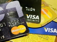 Maret 2018, Transaksi Kartu Kredit Naik 9,82%