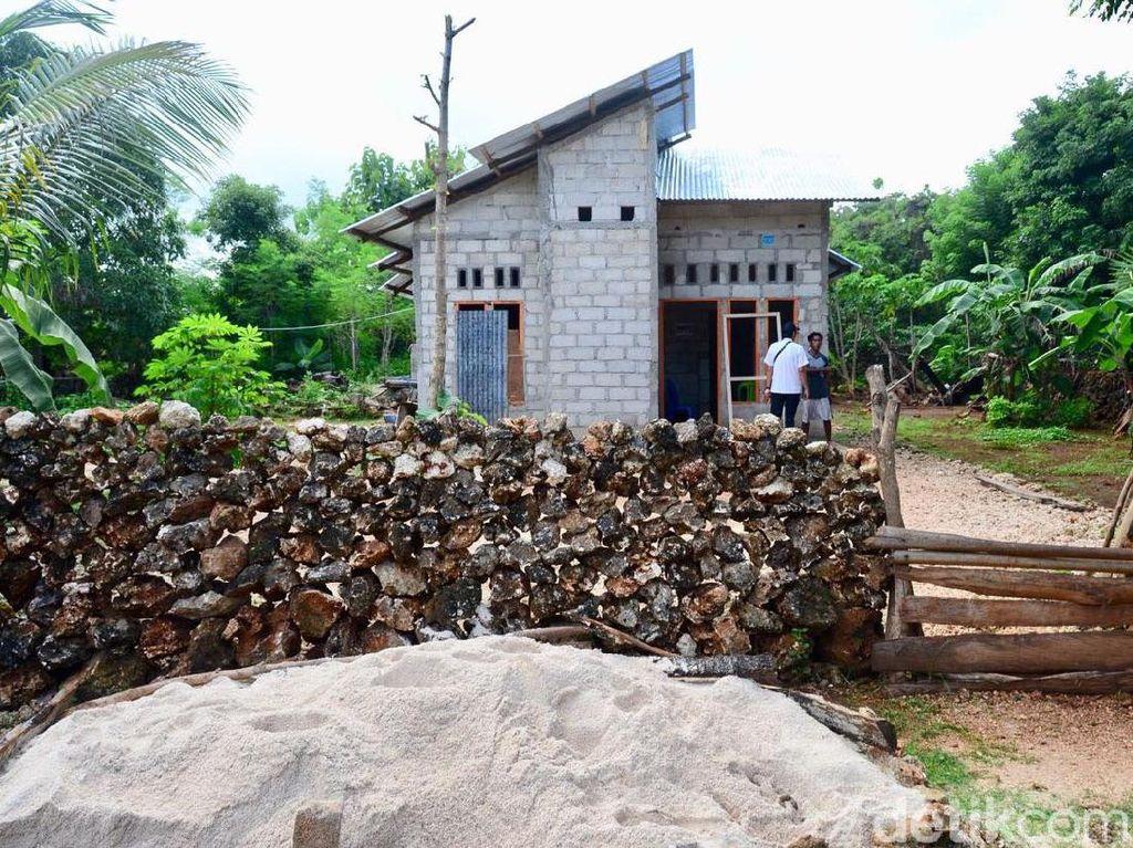 Dana bantuan Rp 15 juta digunakan masyarakat untuk mengubah struktur bangunan rumah. Pool/Kementerian PUPR.