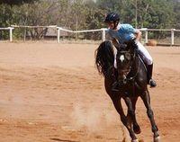 Dias juga suka berkuda lho. (Foto: Instagram/@icaroldias)