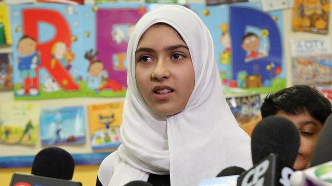 Remaja Kanada Diserang dengan Gunting karena Memakai Jilbab