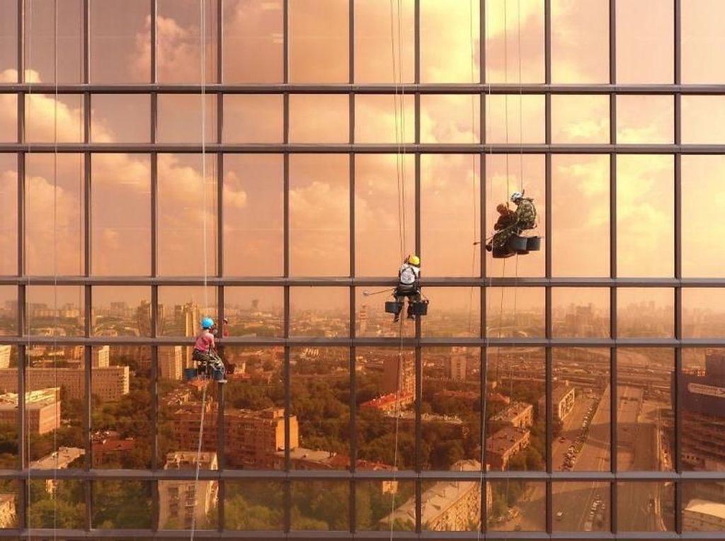 Sore di Mercury Tower. Foto: Bored Panda