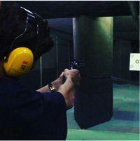 Pria berusia 25 tahun ini ternyata pernah unjuk kebolehannya dengan olahraga menembak. (Foto: Instagram/real_pcy)