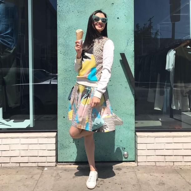 Tak Takut Gemuk, Si Cantik Raline Shah Doyan Banget Makan