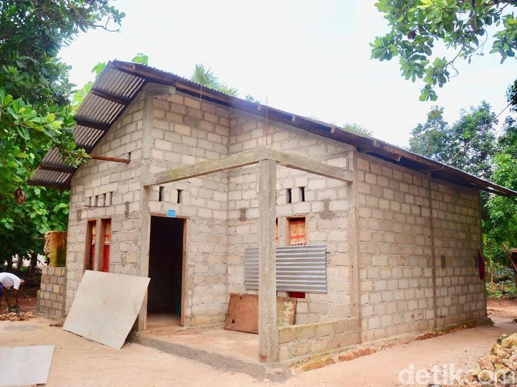 Pemerintah targetkan rumah yang akan mendapat bantuan sebanyak 14.305 unit dengan alokasi dana sebesar Rp 214,5 miliar. Pool/Kementerian PUPR.