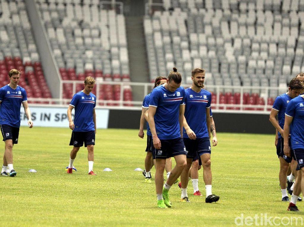 Islandia dijadwalkan akan melawan Indonesia dalam pertandingan uji coba, di Stadion GBK, Minggu (14/01/2018).