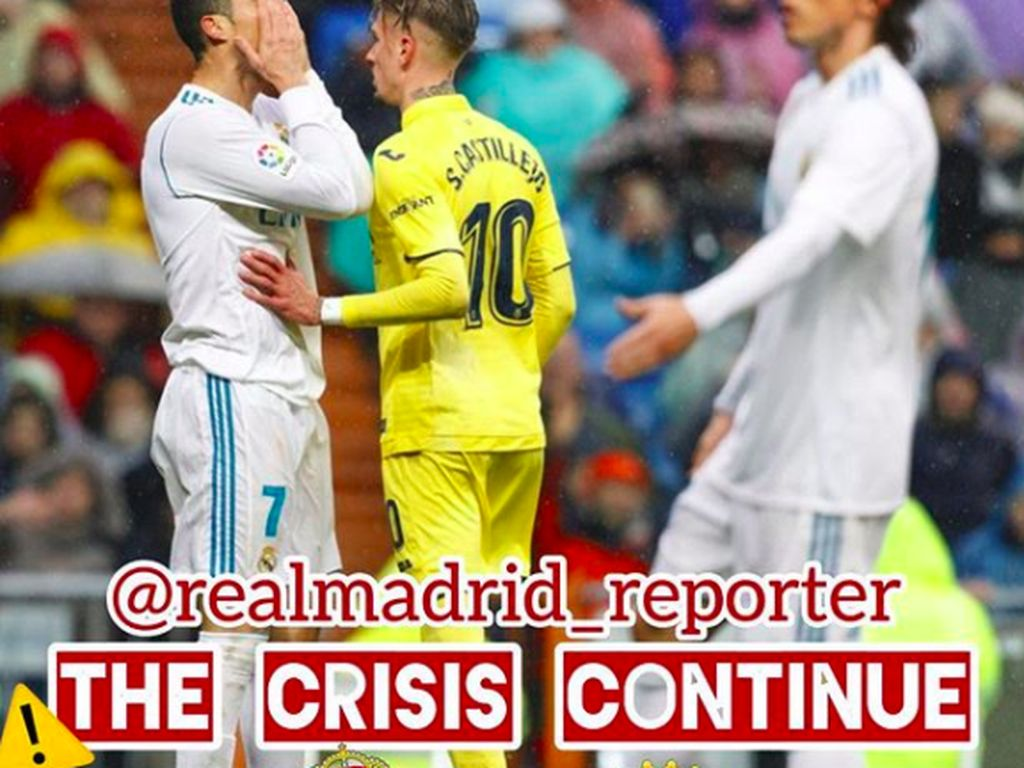 Krisis Madrid masih berlanjut dengan kekalahan ini. Foto: istimewa