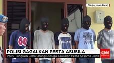 Polisi Gagalkan Pesta Seks Sejenis