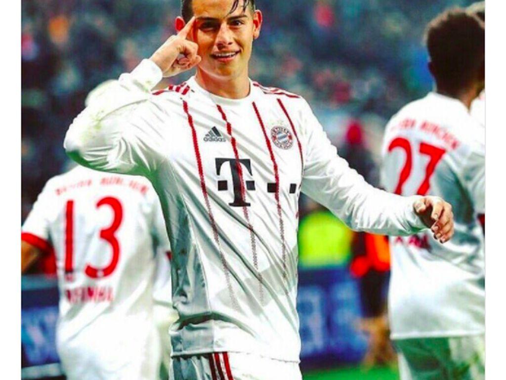 Keputusan James Rodriguez pindah ke Bayern Munich dari Madrid sepertinya tepat. Foto: istimewa
