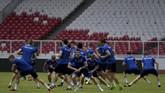 Timnas Islandia sebelumnya sukses mengalahkan Indonesia Selection 6-0 pada laga persahabatan di Stadion Maguwoharjo, Kamis (11/1). (ANTARA FOTO/Sigid Kurniawan)