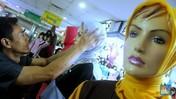 Pedagang Busana Muslim Diuntungkan Maraknya Reseller Online