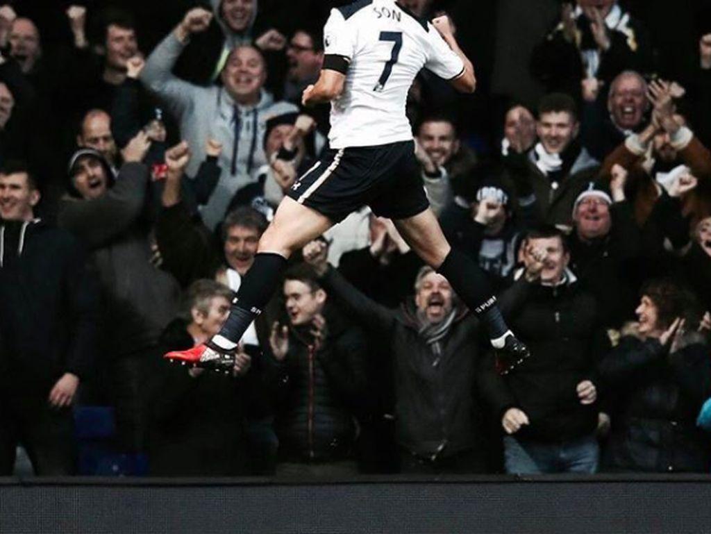 Dielu-elukan oleh fans Tottenham ketika mencetak gol. Dengan usia masih 25 tahun, masa depannya masih panjang dan semoga tetap cemerlang. Foto: Instagram