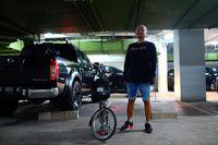 Dilihat dari channel YouTube miliknya, pria bernama lengkap Wendi Armoko itu memang senang bersepeda sejak lama. Foto: Instagram @wendicagur