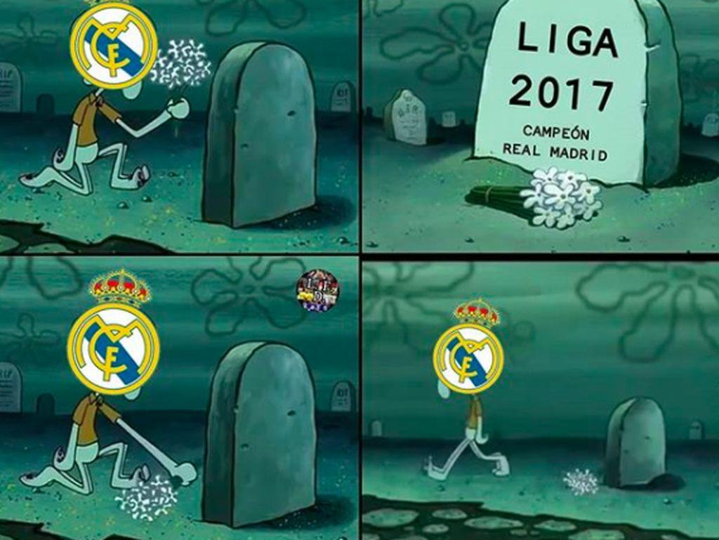 La Liga praktis sudah almarhum bagi Madrid. Foto: istimewa