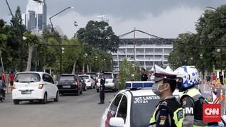 Persija Main di GBK, Polisi Rekayasa Lalu Lintas di Senayan