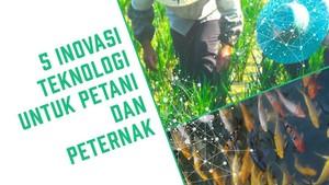 5 Inovasi untuk Petani dan Peternak