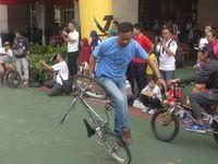 Beberapa komunitas sepeda juga meramaikan JLNT Antasari. (Foto: Firdaus/detikHealth)