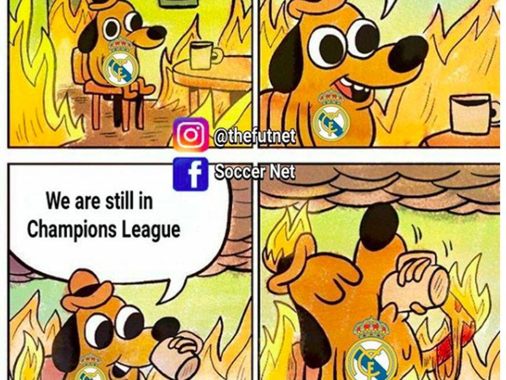 Masih ada harapan di Liga Champion walau keadaan makin memburuk sepertinya. Foto: istimewa