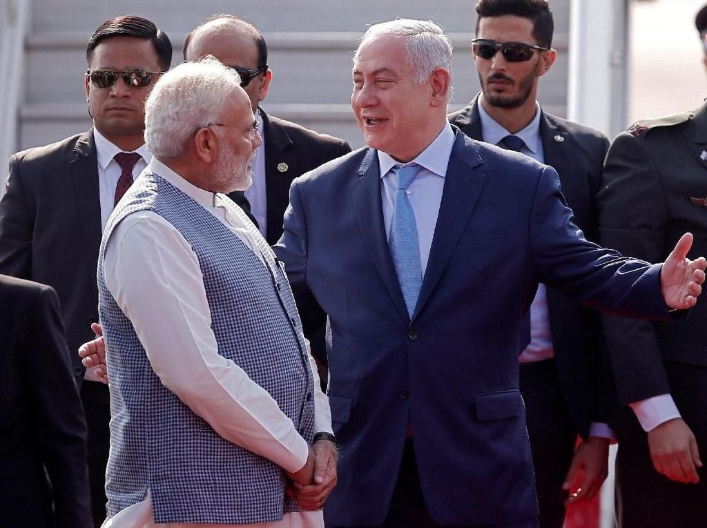 Awalnya yang akan menyambut Netanyahu adalah Menteri Hubungan Luar Negeri India (Foto: Dok. REUTERS/Adnan Abidi)