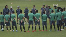 Pelatih Timnas Indonesia Panggil Empat Pemain Usai Latihan