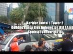 VIDEO: Koridor Lantai 1 Gedung BEI Ambruk