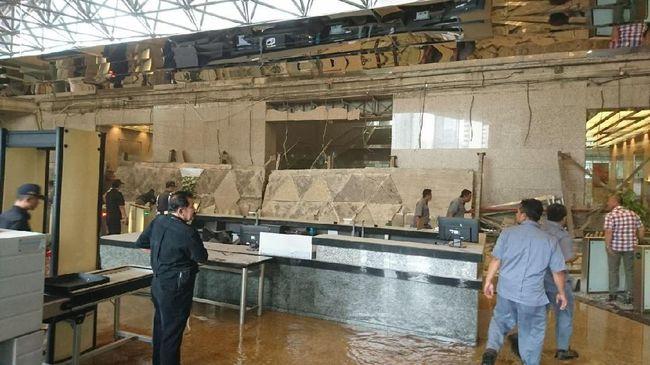 Polisi Berencana Periksa Kontraktor Tower II Gedung BEI