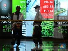Capres-Cawapres Daftar ke KPU, IHSG Dibuka Naik 0,32%