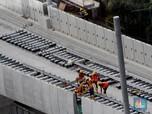 Proyek Utama di Bagian Layang MRT Tuntas Sebelum Moratorium