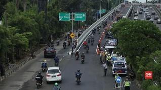 VIDEO: Urai Kemacetan Cawang, Flyover Pancoran Resmi Dibuka
