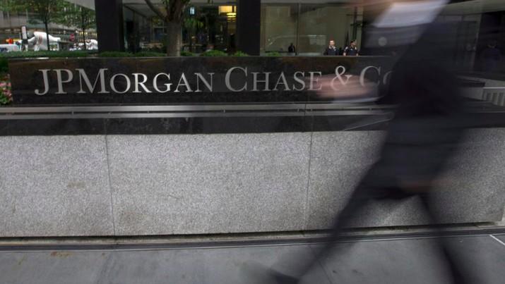 JPMorgan Catatkan Pertumbuhan Laba di Kuartal I-2018