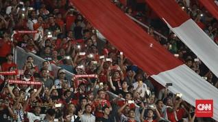 FOTO: Sihir SUGBK di Laga Timnas Indonesia vs Islandia