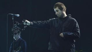 Pendar 'Rock Star' Liam Gallagher di Jakarta
