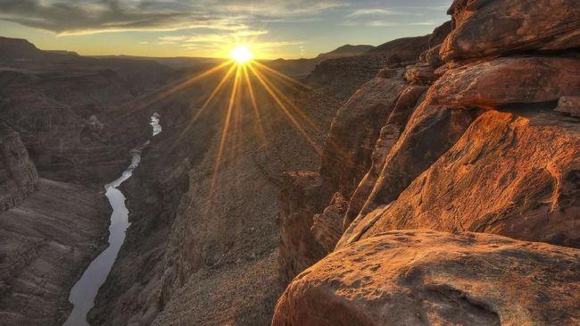 Grand Canyon Punya Wahana Meluncur Antar Ketinggian Tebing