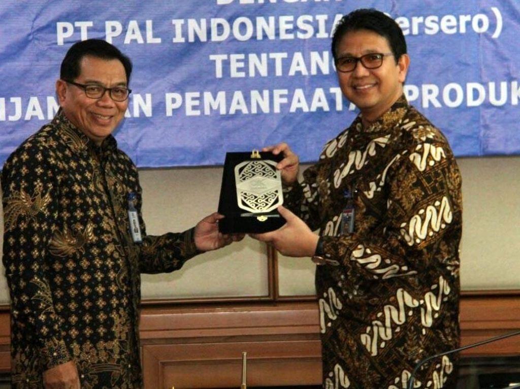 Askrindo Jalin Kerjasama dengan PT PAL Indonesia