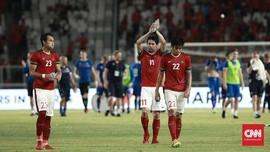 FOTO: Timnas Indonesia Kalah dari Islandia