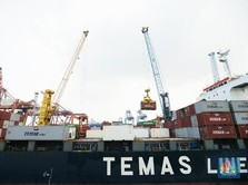 Ekspor Mei Diramal Ambles -19%, Gegara Rupiah Terlalu Kuat?